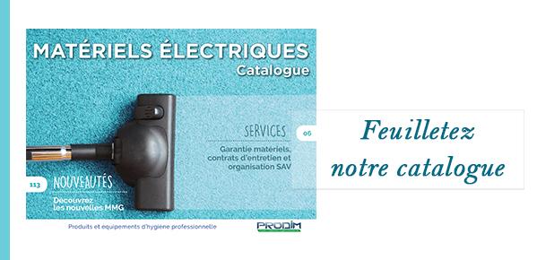 catalogue matériels électriques